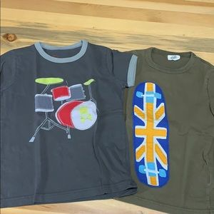 Mini Boden T-shirt set